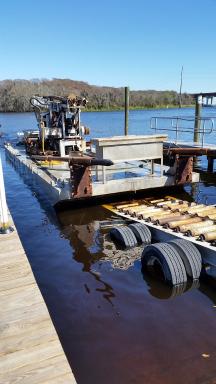Amphibious Drill Rig