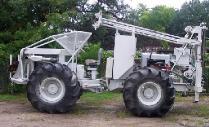 Rubber Tired ATV