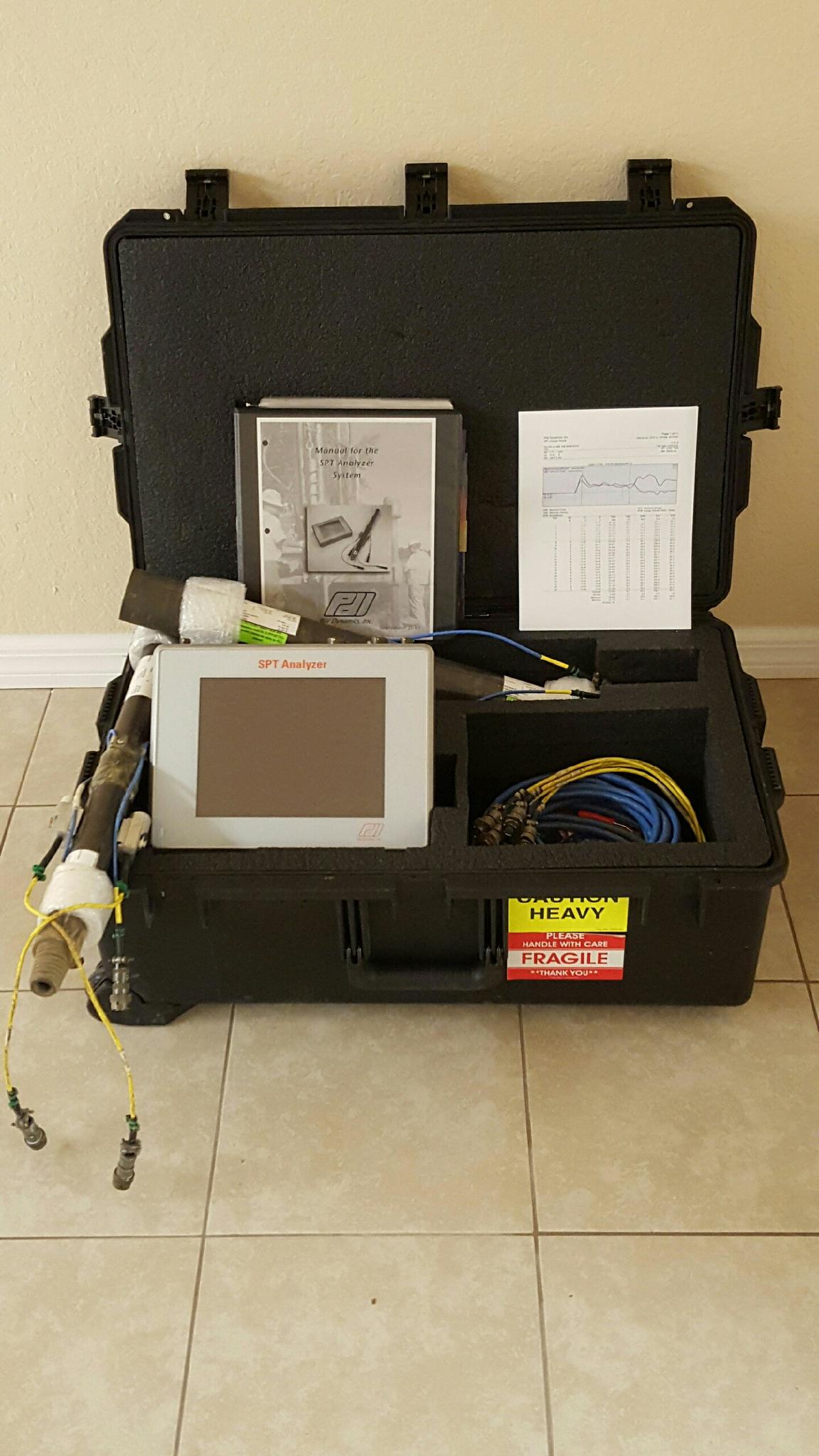 Auto Hammer Calibration Analyzer