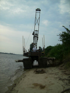 amphibious rig