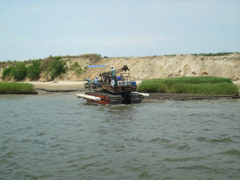 amphibious barge