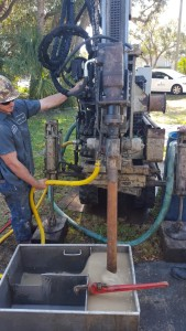 Compact Track Rig geotechnical drilling