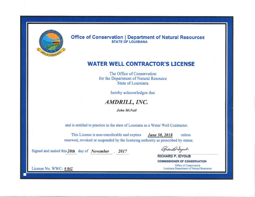 orange county occupational license Certifications